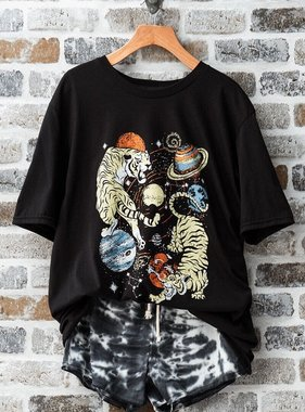Tigers are Out of this World Graphic Tee