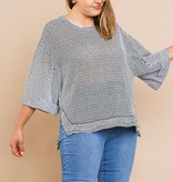 I'm the Queen Bee Waffle Knit Top (MORE COLORS)