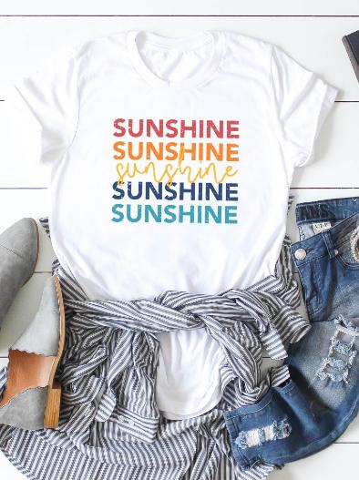 Sunshine & Rainbows T-Shirt