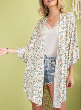 Ditsy Floral Babe Kimono