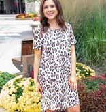 Leopard On Me Dress