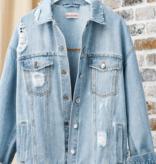 Hot Girl Summer Denim Jacket