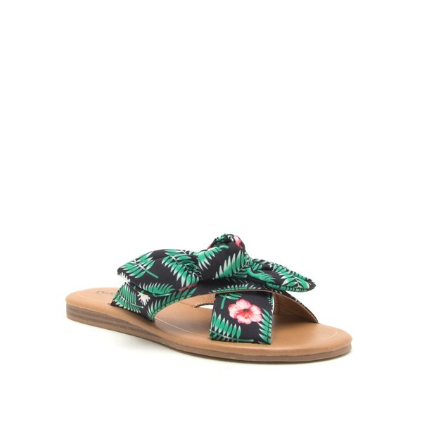 Top it Off with a Bow Sandal