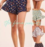 New Florals on the Block Shorts
