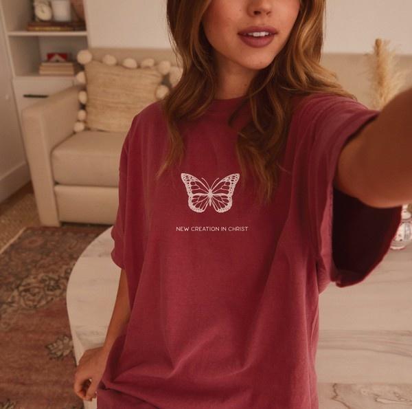 New Creation In Christ Brick T-Shirt