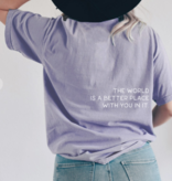 Better Place With you Orchid T-Shirt