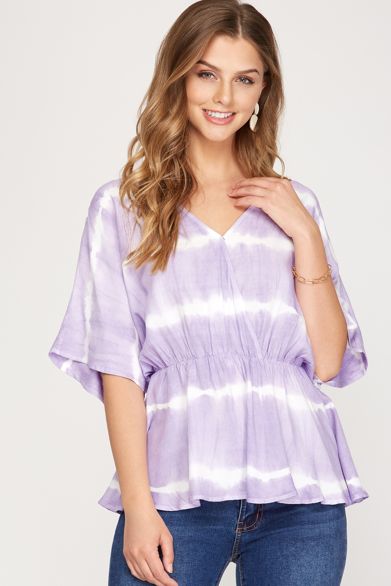 New Found Beauty Lavender Top