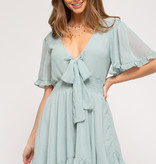 Seeing The Bright Side Seafoam Dress