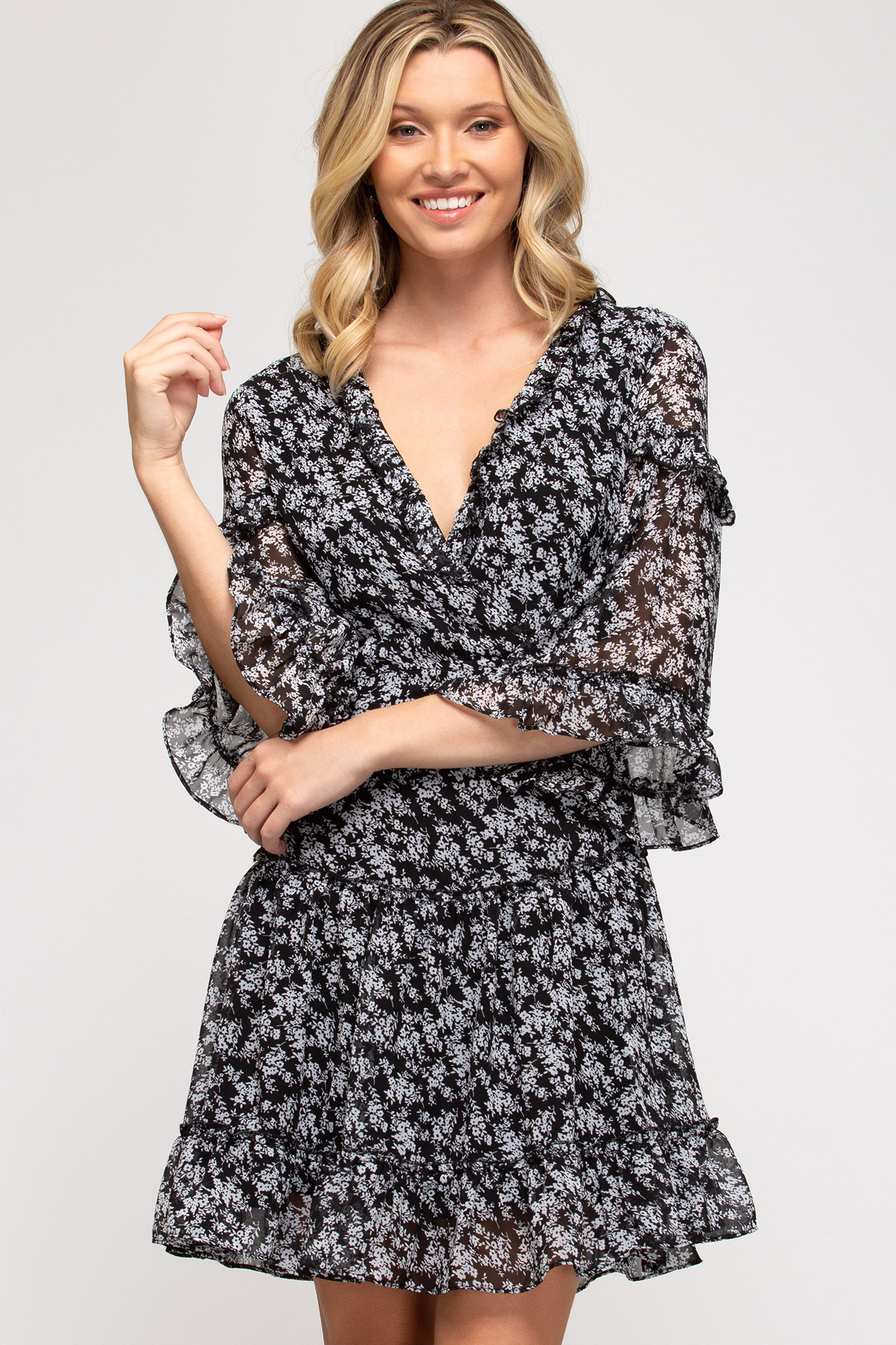 Can You Feel The Love Back Tie Dress