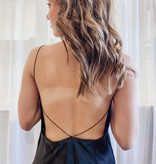 Double The Trouble Strappy Dress Black