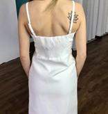 Lillie's White Floral Sleeveless Dress