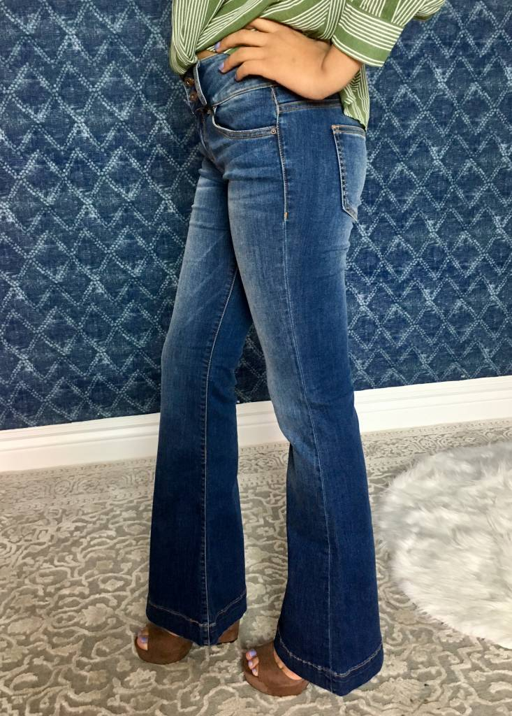 Sneak Peek Denim Bell Bottoms