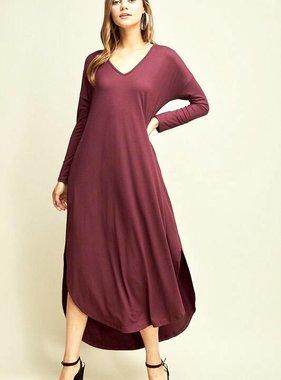 Abby LS Maxi Dress- More Colors- SALE ITEM