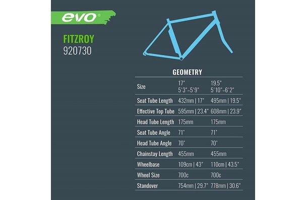Evo Promovec Fitzroy 2018 pour hommes, Vélo, Ardoise, 17''