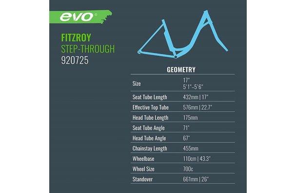 Evo Fitzroy pour femmes, Vélo, Myrtille, 17''