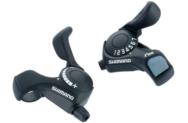 Shimano Tourney SL-TX30, Shift levers, Pair
