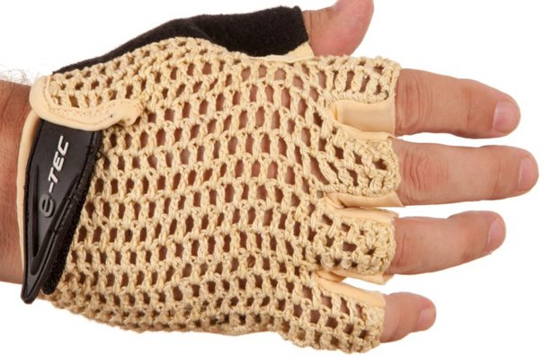 Evo E-Tec Retro Mesh, Gloves, Beige, Large