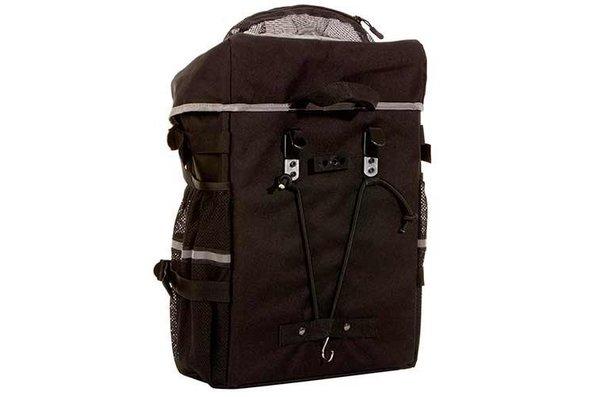 Evo Clutch Cargo Plus Panniers, Sacoche, 45L, Noir