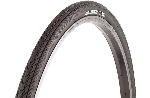 Evo Parkland, Tire, Wire, Clincher, Black, 700c