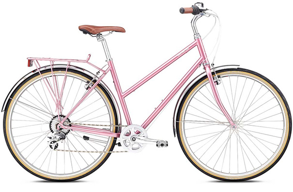 Breezer Downtown EX ST - Gloss Metallic Pink