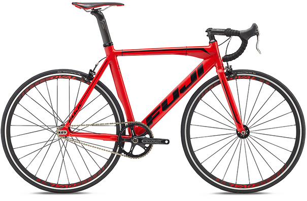 Fuji Track Pro USA - Red/Black
