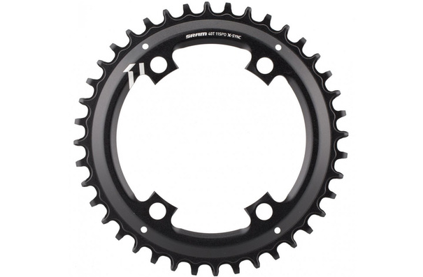 Sram X-Sync Asymmetrical Chainring, 44T, 11sp., 4 arm, 110 BCD, Apex 1