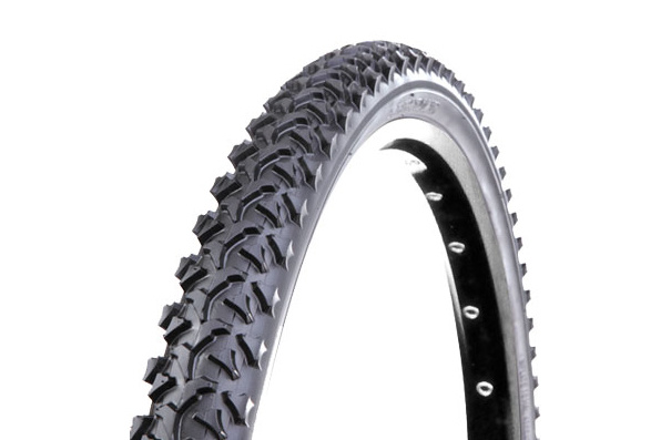 "Generic 24x1.95"" Knobby Tire, Black"