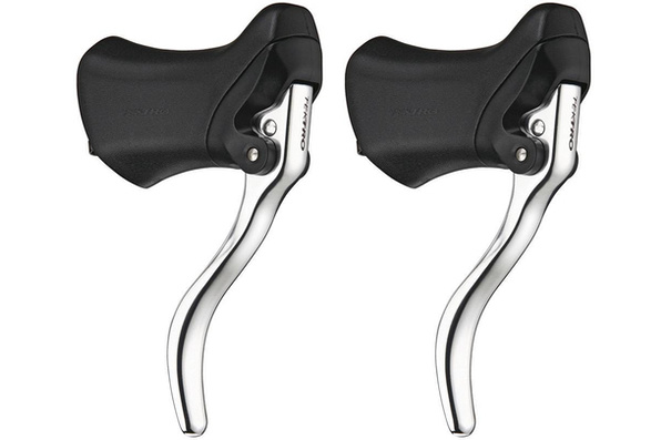 Tektro RL340 Road Drop Brake Levers, Silver