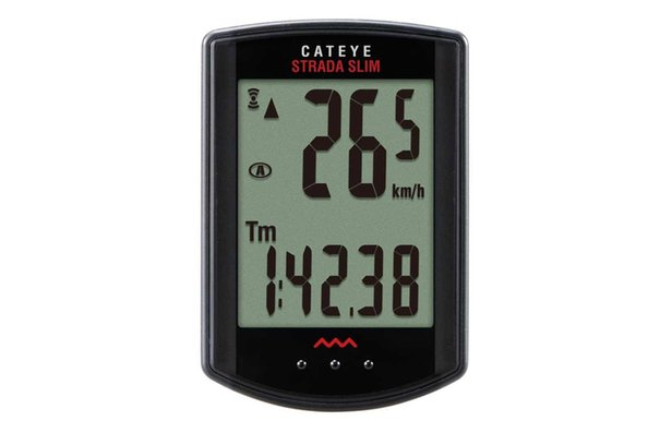 CatEye Strada Slim Wireless CC-RD310W, Cyclomètre, Capteur universel