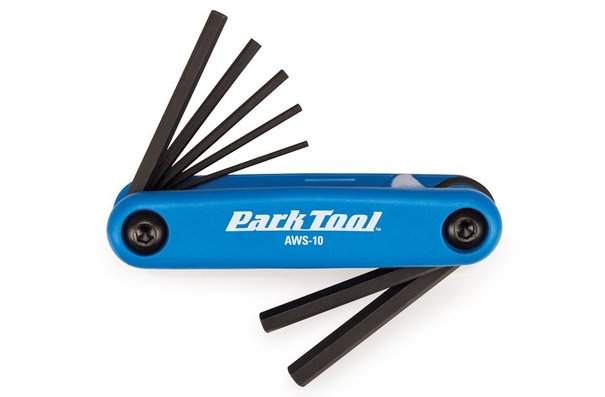 Park Tool AWS-10, Folding hex wrench set