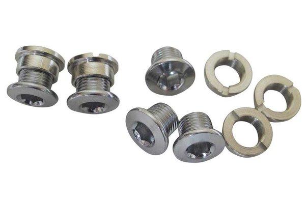 Wheels Manufacturing (WheelsMfg) Boulons et écrous pour plateau singlespeed, 6.5mm