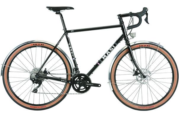 Masi Speciale Randonneur Elite 650b, Gloss Black, 51cm