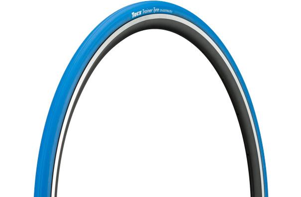 Tacx Trainer, 700x23C, Pliable, Bleu