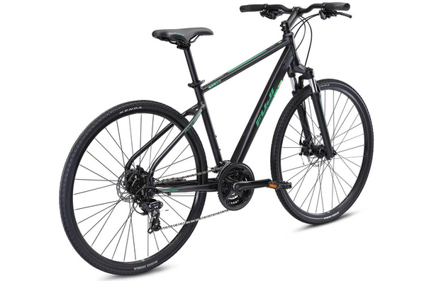 Fuji Traverse 1.7, Satin Black/Green