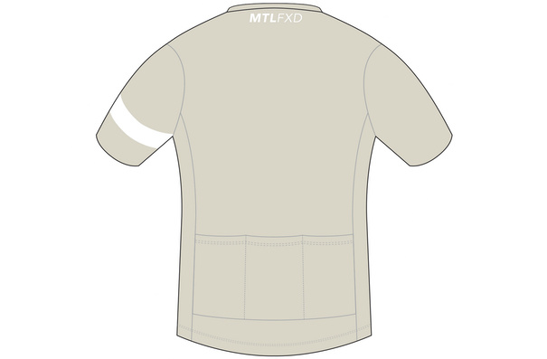 MTLFXD Limited Run, Expert Jersey, Sand White, Large/Short Cut