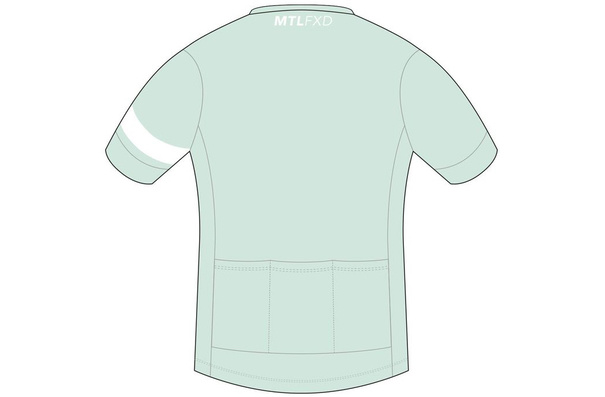 MTLFXD Limited Run, Team Jersey, Mint/Teal, Large/Long Cut