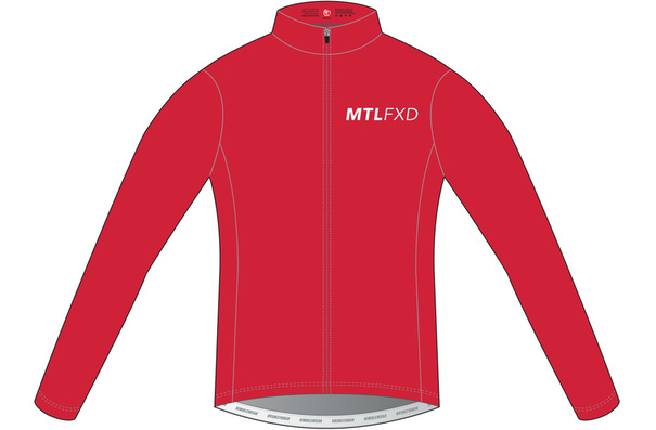 MTLFXD Limited Run, Pro Wind Jacket, Red, Large