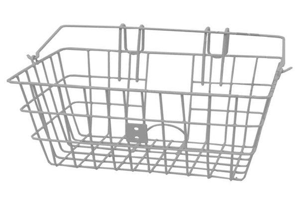 Evo E-Cargo Lift Off Classic, Basket, Silver