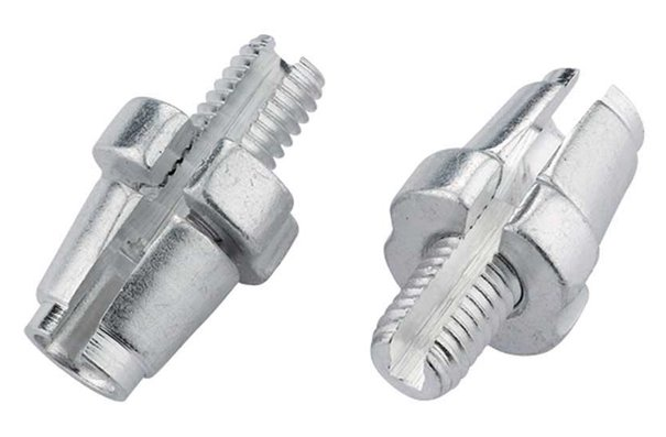 Jagwire Adjuster barrels (sleek style), M7, Silver