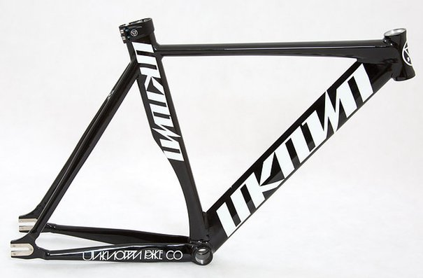 Unknown Bike Co. Singularity Frame, Gloss Black, 52cm