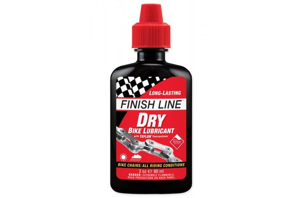 Finish Line Dry Lube, Lubrifiant à chaîne, 2oz (60ml)