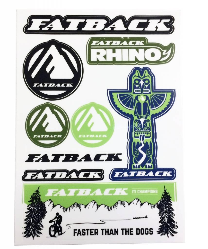 Fatback stickers