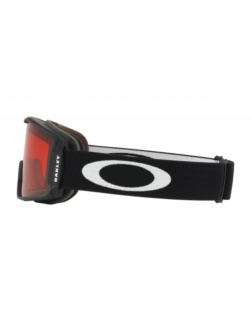 Oakley LineMiner XM Goggles 19 (Matte Black/ Prizm Rose)
