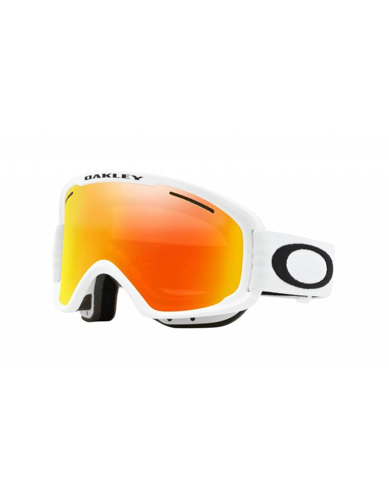 Oakley O Frame 2.0 XM Goggles 19 (Matte White/ Fire & Pers)