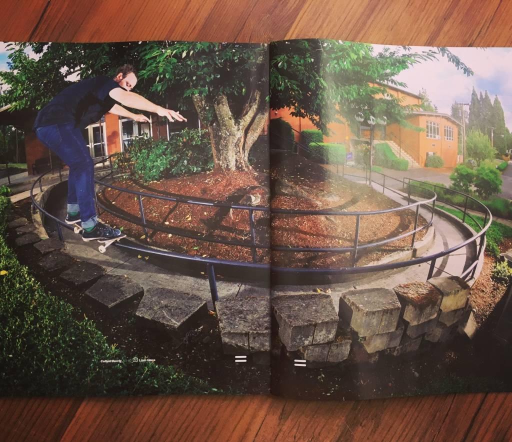 Callum Derrig In Kingshit Magazine