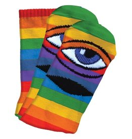 Toy Machine Toy Machine Sect Eye III Socks (rainbow)