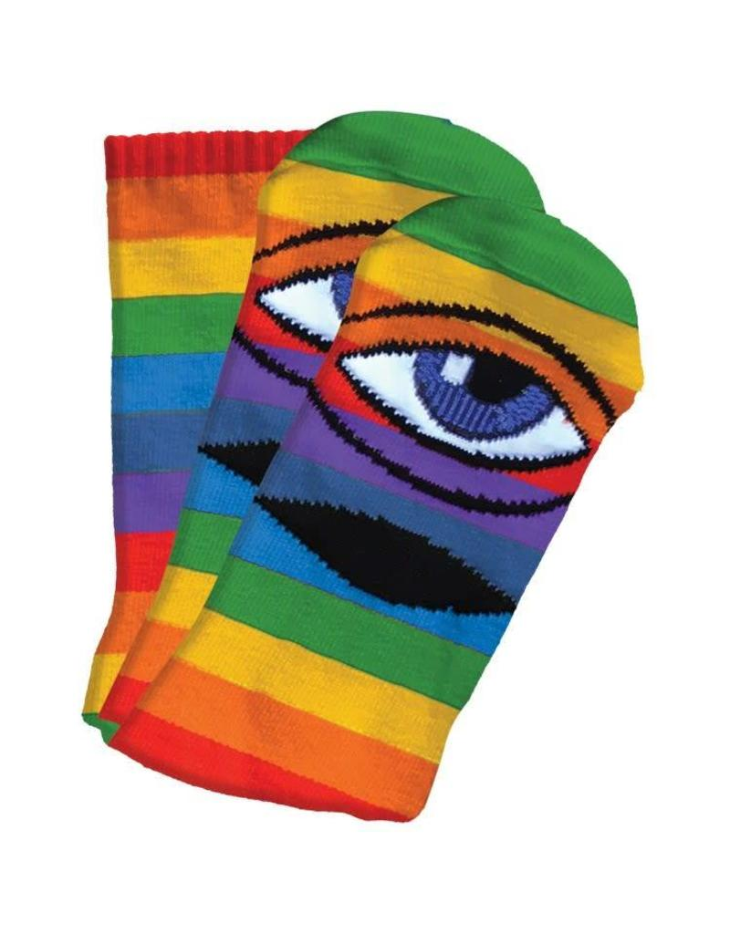 Toy Machine Toy Machine Sect Eye III Socks (rainbow)