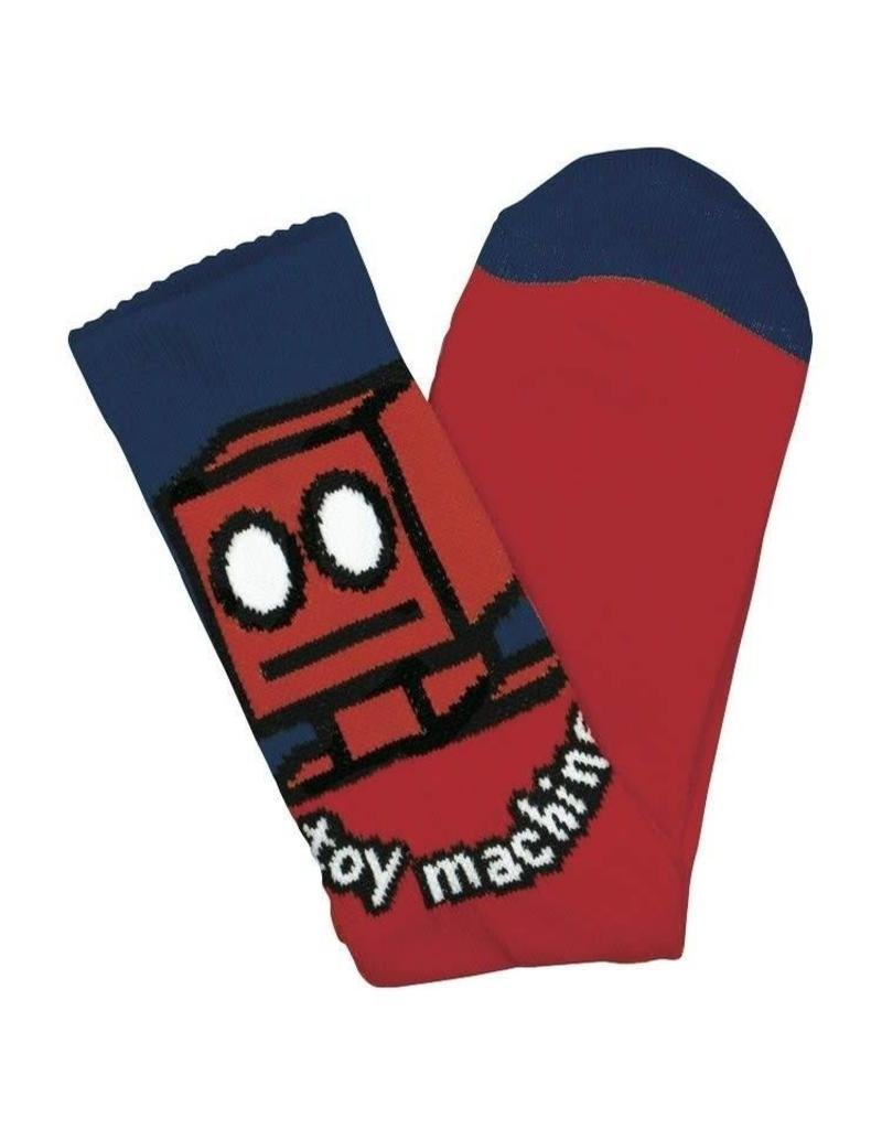 Toy Machine Toy Machine Robot Socks (red)