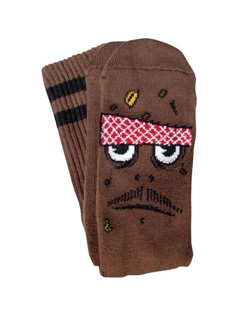 Toy Machine Toy Machine Poo Poo Head Socks