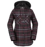 Volcom Volcom Hooded Flannel Jacket